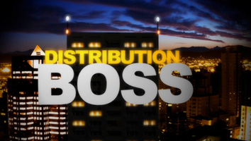 Screencap of the words Distribution Boss overlaid over a nighttime-skyscraper backdrop